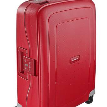 Walizka Samsonite SCure 55x40x20 Crimson Red 34l