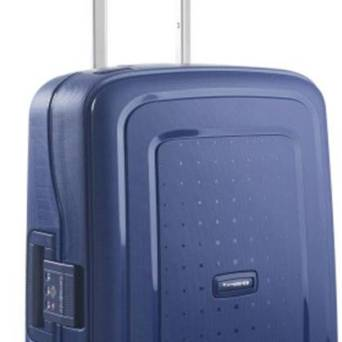 Walizka Samsonite SCure 55x40x20 Dark Blue 34l